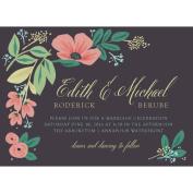 Sketchbook Botanical Standard Wedding Invitation