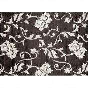 Loloi Enchant 2.1m x 3m Power Loomed Rug in Espresso and Ivory