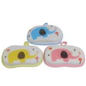 Dianoo 3 PCS Baby Bath Sponge, Infant Shower Bath Brush, Soft Pure Cotton Baby Bath Foam Rub Shower Sponge
