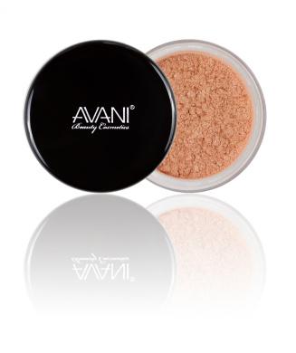 Avani Dead Sea Cosmetics Eye Shadow Shimmering Powder, SP52 Honey, 5ml