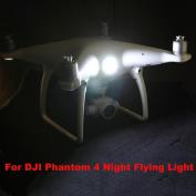 Newest Super Bright LED Search Light For DJI Phantom 4 Drone Night Flying Light