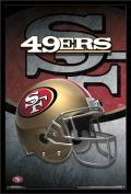 Trends International Wall Poster San Francisco 49ers Helmet, 22.375 x 34