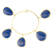 Pippa Small Yellow Gold Plated Sterling Silver Parastu Bracelet