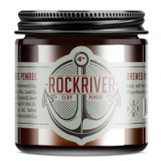 Vegan Matte Clay Pomade - Rockriver Hair Styling Clay Pomade - No Harsh Chemicals