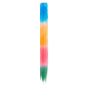 Blue Banana Rainbow Ombre 46cm Clip In Extension