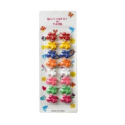 Cute Bobbles Assorted Hair Ties Ponytail Holder Hairband for Girls