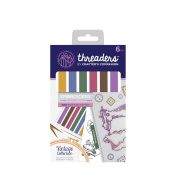 Crafter's Companion Threaders - Embroidery Stranded Cotton - Vintage