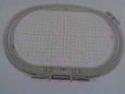 NGOSEW Large Oval Embroidery Hoop 145mm X 255mm Bernina Artista 185 200 630 640 730 830