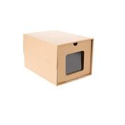 Sinfu 1PC DIY Organiser Storage box Kraft Paper Load Style Rectangle Stocked