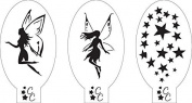 Fairies and Stars Stencil
