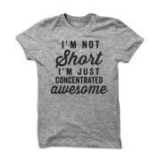 Vin beauty I'm Not Short Printed Short sleeve T Shirt for Woman
