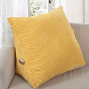 Bedside backrest Triangular Wedge Cushion Stereo cushions Backrest Pillow soft bag Back Support