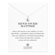 Dogeared 14 ct Gold Plated Mind Over Matter 3D Buddha Head Charm Necklace of Length 45.72 cm
