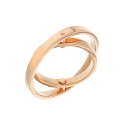 Uncommon Matters 18ct Gold Plated Swing Ring
