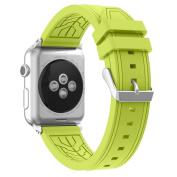 Transer Sports Silicone Wrist Watch Strap Band Belt Bracelet For Apple Watch 38MM