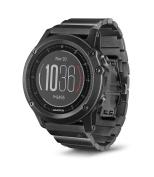 Garmin 010-01338-7C fēnix 3 HR Running GPS, Slate Grey with Stainless Steel Band, 3cm