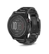 Garmin 010-01338-7B fēnix 3 HR Running GPS, Titanium with DLC Band, 3cm