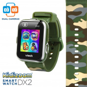 VTech Kidizoom Smartwatch DX2 - Camouflage - Online Exclusive