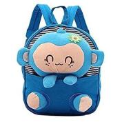 Kids Toddler Schoolbag, gloednApple Baby's Cute Animal Carton Shoulder Backpack Plush Bag for Children