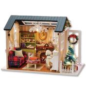 Handmade Furniture Doll House DIY miniature doll house 3D Wooden Miniaturas