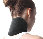 Neck Brace,Neck Support Self Heating Pain Relief Headaches Strap Natural Physical Therapy Healing Wrap for Men Women Flexible Cervical Collar Neck Pain Relief Wrap Air Car Travel Neck Stiffness Brace