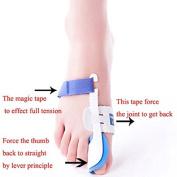 Sichun Night Time Splint Big Toe Straightener Bunion Hallux Valgus Corrector Regulator Stretcher Support Separators Foot Care Pain Relief