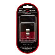 Universal Clipper Red Comb Attachment 0.08cm No #000 Speed O Guide Barber Salon