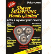 Vollco Sharpening Heads VSH-2 Black – Sharpens All Philips/Norelco Shavers Using These Replacement Heads
