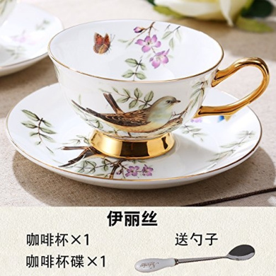 Coffee cup and Saucer Set, high-grade bone china tea cup,One