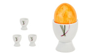 Van Well Set of 4 Egg Cups White 4.8 – Different Designs Available Fashion