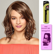 Kendall by Henry Margu, Wig Galaxy Hair Loss Booklet & Magic Wig Styling Comb/Metal Pick Combo (Bundle - 3 Items), Colour Chosen