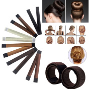Hair Bun Crown Shapers Modern Hair Styling Maker Beauty Crown Donut Hair Style Tools