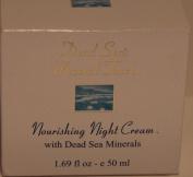 Crystal Line Dead Sea's Mineral Touch Nourishing Night Cream 50ml