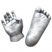 Essential Baby Hand & Foot 3D Casting Kit - 450g Chromatic Alginate + 1kg plaster + set of cast tools