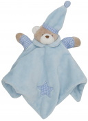 Lora Dora Baby Boys Girls Teddy Bear Comforter Blanket Soft Fleece Soother Newborn Gift