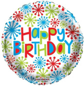 Single Source Party Supplies - 46cm Birthday Mylar Foil Balloon - Pack of 5