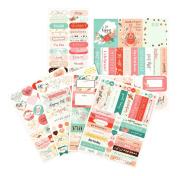 Prima Marketing Mpp Embellishments-Be Happy-Stickers