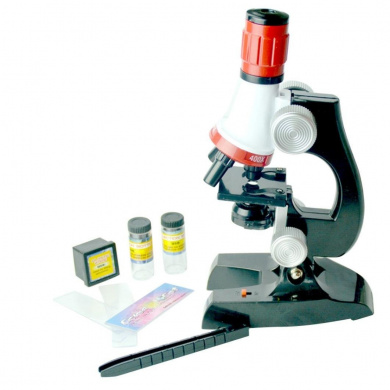 Puzzle toys,MML® Microscope Kit Lab LED 100X-1200X Gift Biological Educational Toy Microscope