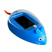 MagiDeal Kids Educational Solar Powered Mouse Robot Toys Gadget Gift Party Bag Filler