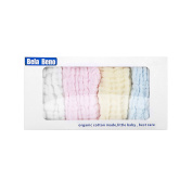 Baby Muslin Washcloth and Towel - Bela Beno Organic Baby Cotton Towel ,Good for Baby Skin ,Super Soft