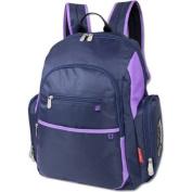 Fisher Price Backpack Nappy Bag - Fastfinder Colorblock in Grey/Orange