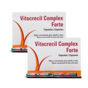 Vitacrecil Complex Forte 2x90 Capsules Hairloss Treatment Antcaida Antiqueda Hair Everyday