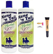 Mane n Tail Herbal Gro Shampoo & Conditioner (800ml Set) with L.A Girl Pro Concealer colour Yellow Corrector GC991