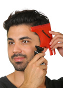 RevoHair Hair Shaping Tool - Multi-Curve- Haircut Template/Stencil/Guide For Men and Barbers - Lightweight - With Hair & Beard Comb