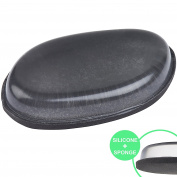 THE ORIGINAL Double-Sided Premium Makeup Blender & Silicone Sponge - Two-in-One Makeup Applicator and Sponge Blender For Flawless Application EVERY Time - Works With Liquids, Powders, Creams