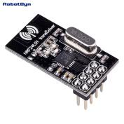 RobotDyn - NRF24L01 Wireless Module, 2.4 Ghz RF transceiver, SPI. For RF projects with Arduino, STM, Raspberry, ARM, AVR platforms.