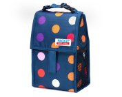 PackIt Freezable Baby Bottle Bag with Zip Closure, Double Bottle, Dots