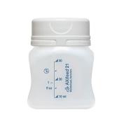 AXifeed EBM Breast Milk Storage Bottles, 50ml, Pack of 10