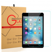 iPad 9.7 2017 / iPad Pro 9.7 Screen Protector - PEMOTech [Tempered Glass] with [Ultra Thin Thickness] [9H Hardness][Crystal Clear] [Scratch Resist] For Apple iPad Pro 25cm Air 1 Air 2 & iPad 9.7 2017