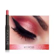Eyeshadow Pencil, Bestow Women FOCALLURE Cosmetic Beauty Pro Highlighter Eyeshadow Pencil Make Up Glitter Eye Shadow Pen